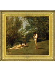 Frame containing Thomas Eakins - Arcadia