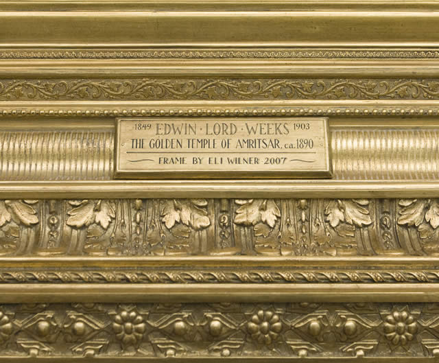 The Golden Temple of Amritsar Nameplate