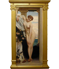Lord Leighton painting and frame