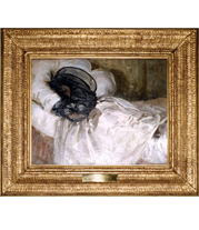 John Singer Sargent painting at The White House French-style reproduction frame