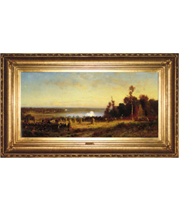 Wordsworth Thompson painting at The White House French-style reproduction frame